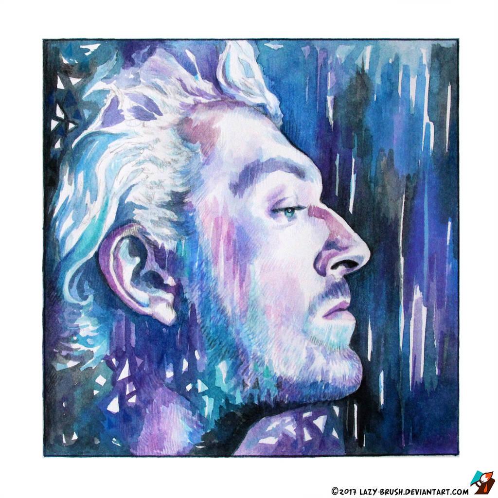Portrait of Vincent Cassel #2 by lazy-brush