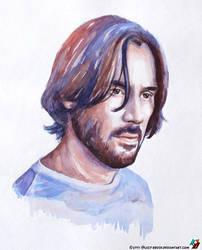 Portrait of John Wick by lazy-brush
