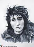 Portrait of Victor Tsoy