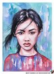 Portrait of Jessie Li by lazy-brush