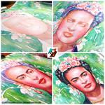 Portrait of Frida Kahlo #2 (WIP)