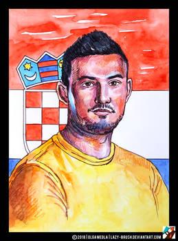 Portrait of Danijel Subasic