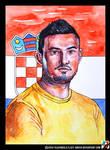 Portrait of Danijel Subasic by lazy-brush