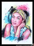 Portrait of Gigi Hadid