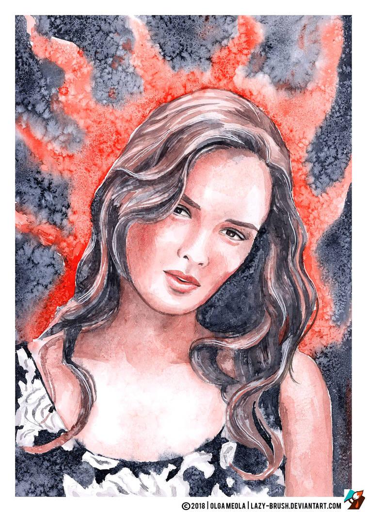 Portrait of Paulina Andreeva by lazy-brush