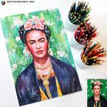 Portrait of Frida Kahlo #2 (final) by lazy-brush