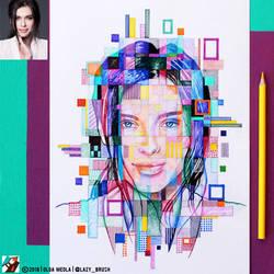 Portrait of Elena Temnikova #2 (final) by lazy-brush