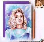 Portrait of Svetlana Loboda #3 (final) by lazy-brush