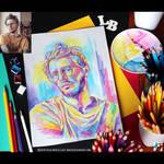 Portrait of Oscar Renkel (WIP#2) by lazy-brush
