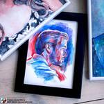Portrait of Ryan Gosling #2 (view 2) by lazy-brush