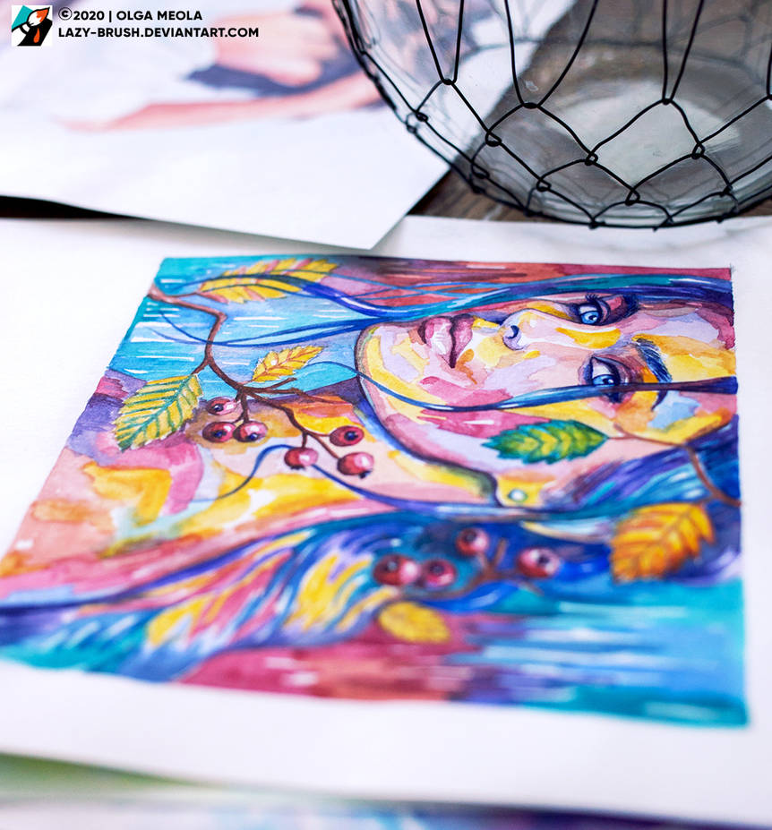 Portrait of Elena Temnikova #1 (view 2) by lazy-brush