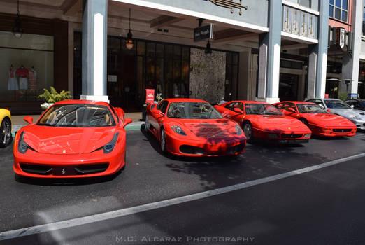 Ferrari - The Red Quartet