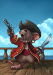 Pirate mouse captain