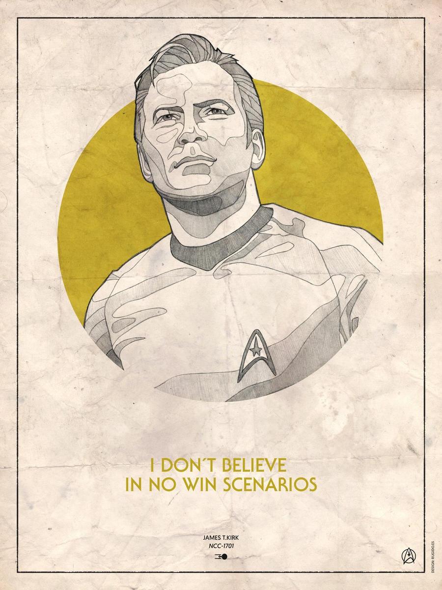 Star Trek Captains - James T.Kirk by RUGIDOart