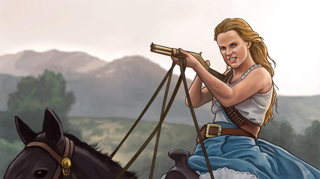 Westworld season 2 - Dolores by RUGIDOart