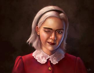 Sabrina Spellman by RUGIDOart
