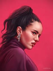 Rosalia portrait by RUGIDOart