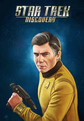 Star Trek Discovery - Captain Pike by RUGIDOart