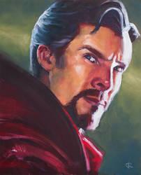 Doctor Strange oil painting by RUGIDOart