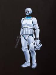 Stormtrooper: Death by RUGIDOart