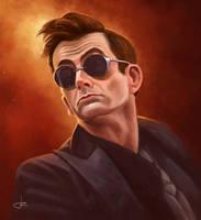 Good Omens - Crowley portrait