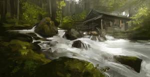 River landscape study
