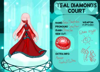teal-diamonds-court app Rose Saph by narusasu321