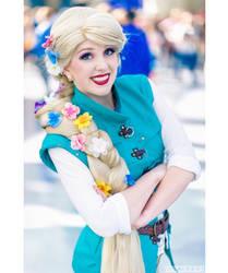 Rapunzel Dressed As Flynn by ReaganKathryn
