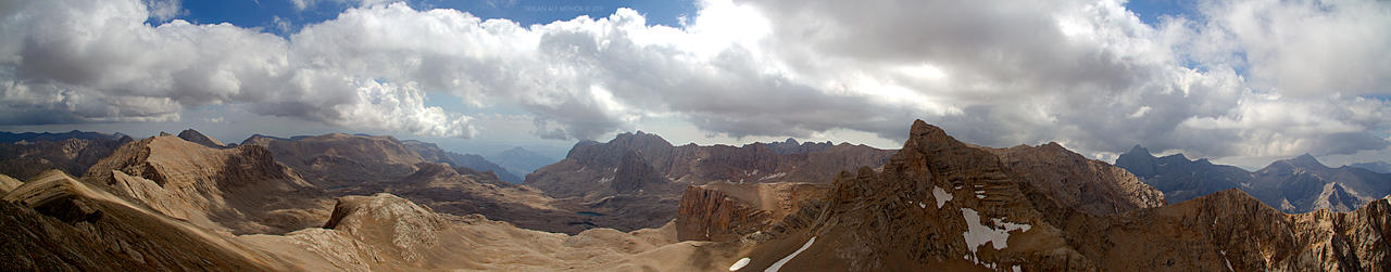 A View From Emler Peak by SatanJager