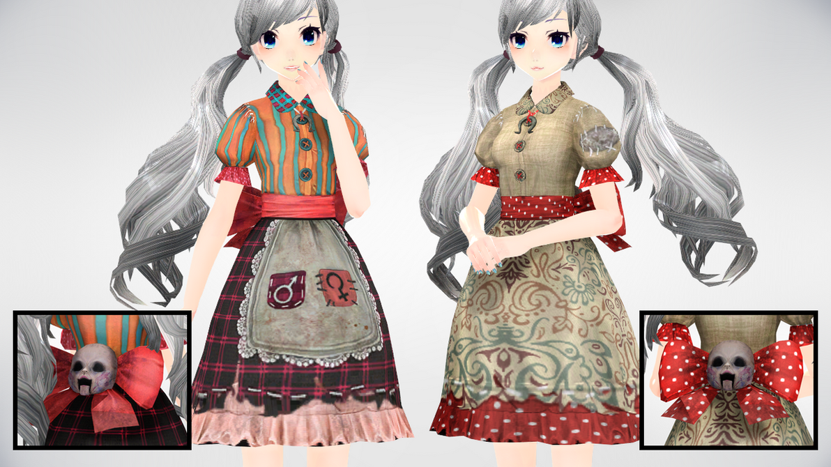 MMD AMR DollDress DL by AuroraYok