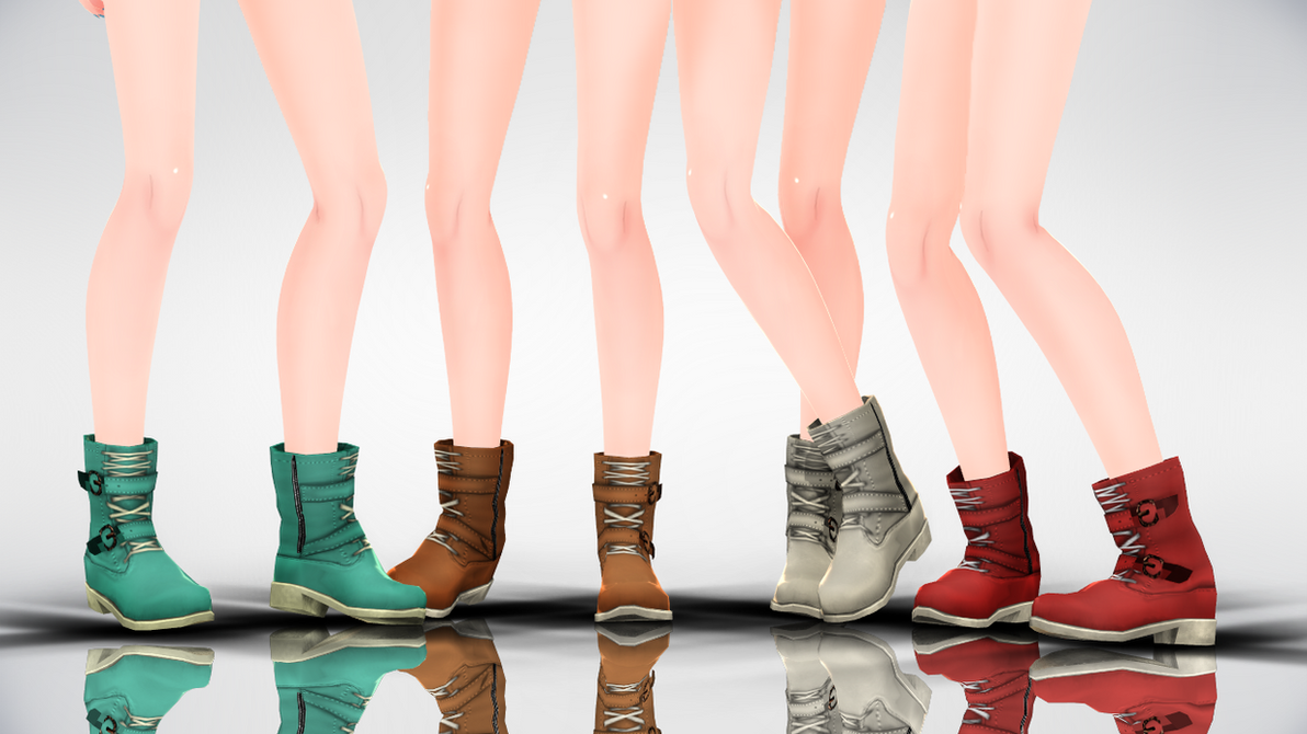 MMD TheiaBoots DL by yokkaulove