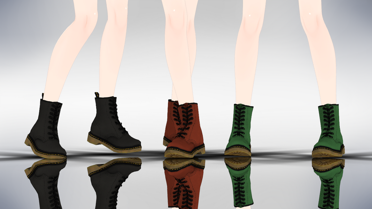 MMD DrMartens Boots DL by AuroraYok