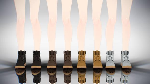 MMD Timberland Boots DL by AuroraYok