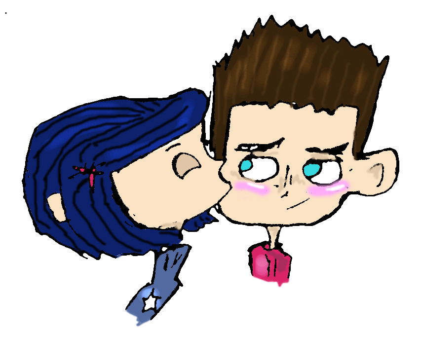 Norman And Coraline Kiss: Coraline And ParaNorman By Danielaurista On DeviantArt