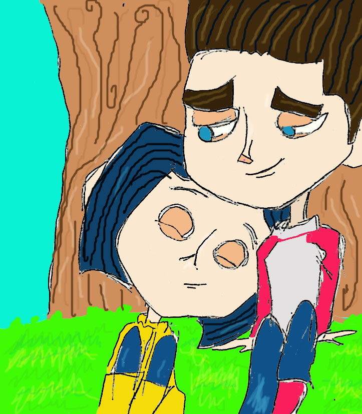 Coraline and Norman Date by danielaurista on DeviantArt