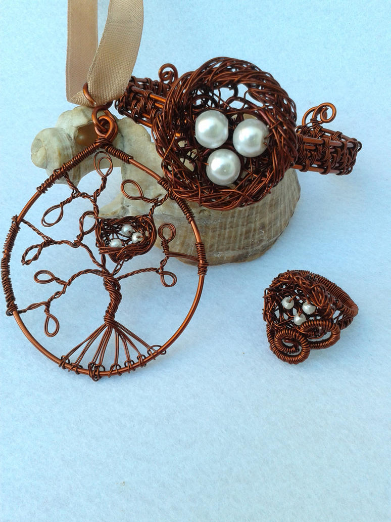 Copper  wire set by Mirtus63