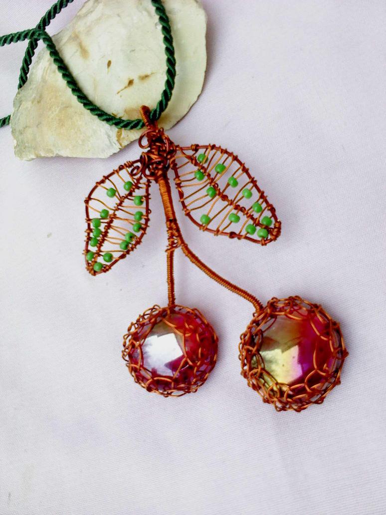 Cherry pendant by Mirtus63