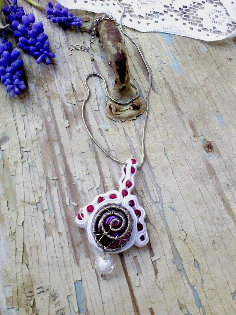 Soutache pendant by Mirtus63