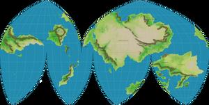 Map of Nekenalos