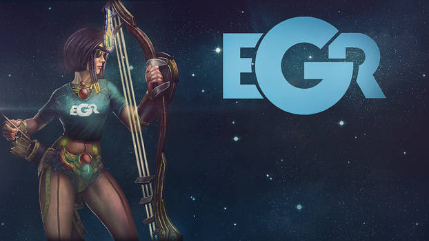 eGr Neith - SMITE Wallpaper