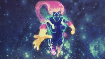 Supernova Sol - SMITE Wallpaper by DustyMcBacon