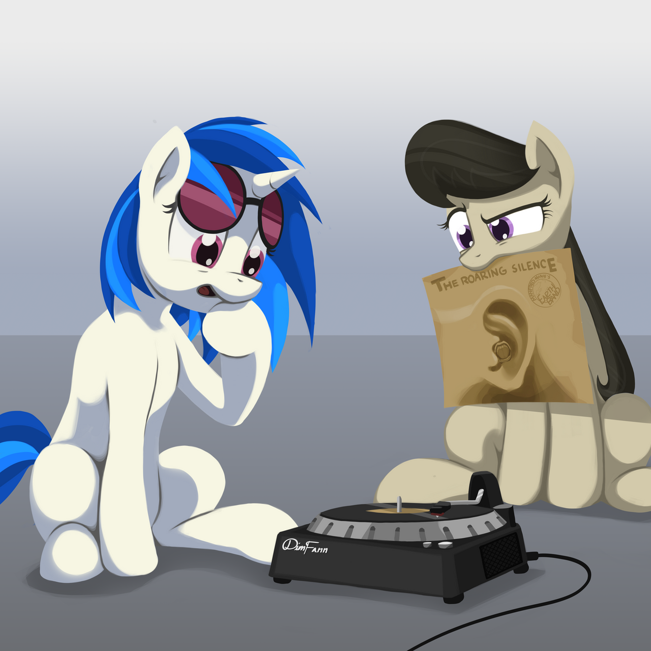 Vinyl Octavia And The Roaring Silence By Dimfann On