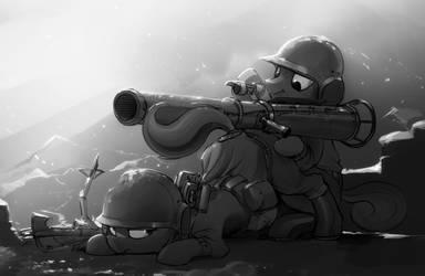 Tail Gunner by DimFann