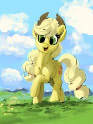 Generic grass field Applejack