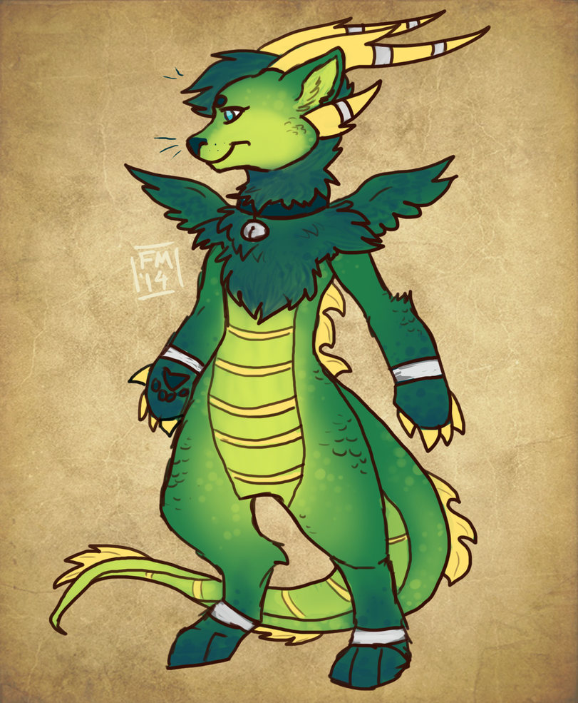 Kitty Dragon Design by Frosted-Monster