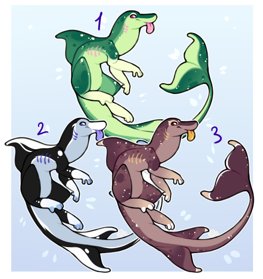 Squishy Seapup Adoptable Batch | Set Price [OPEN] by Amelia007Layt