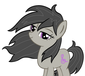 Octavia - windy weather - vector 90Mpx by SapphireBeam