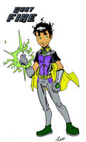 Gray Fire: son of Robin and Starfire