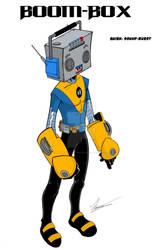 Boom-Box 'My Hero Academia' oc by wonderfully-twisted