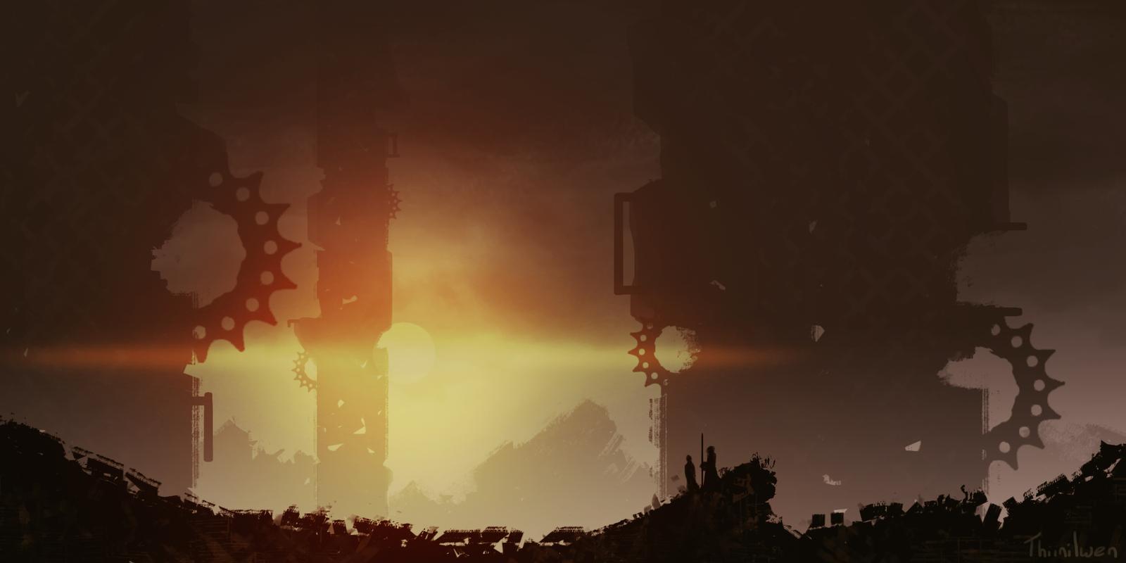 Industrial by Kathryb